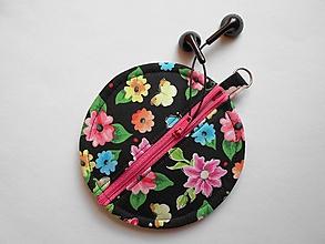 Taštičky - Kvetinkový obal na slúchadlá - 9864379_