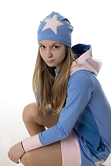 Detské čiapky - Star čiapka - 9863817_