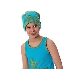 Detské čiapky - Star čiapka stripes - 9863820_