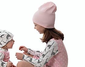 Detské čiapky - Maia čiapka pink - 9863904_