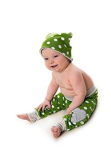 Detské čiapky - Mimosa čiapka dots - 9863926_