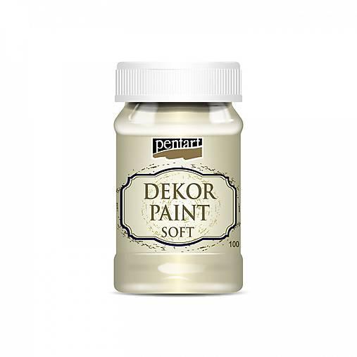 Dekor Paint Soft 100 ml - slonovina
