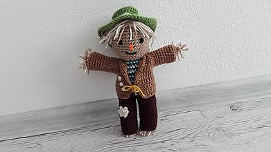 Hračky - strašidielko v zelenom klobúku - 9865355_