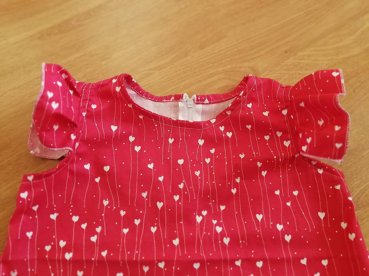 a81e5d8e59b2 ... Detské oblečenie - Letné šaty so srdiečkami - 9867832