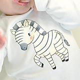 Detské oblečenie - Body Zebra - 9867404_