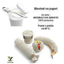 Drobnosti - Bio obal na jogurt - 9867060_