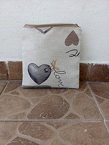 Taštičky - Kozmetická taštička - 9866111_