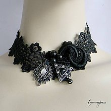 Náhrdelníky - Gotický náhrdelník - 9865781_