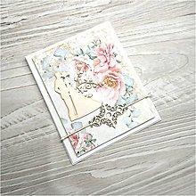 Papiernictvo - Svadobná pohľadnica - 9867423_