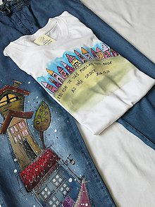 Tričká - tričko s biblickým veršom - 9866342_