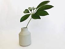 Dekorácie - Betónová váza - Vase S - 9866648_