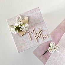 Papiernictvo - Elegantná krabička na svadbu - 9865726_