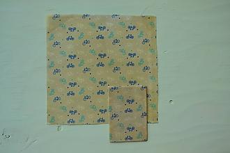 Úžitkový textil - Včelí ekoobal 25*25 (Bicykle) - 9867916_