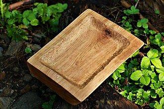 Nádoby - Misa z dubového dreva - 9866185_