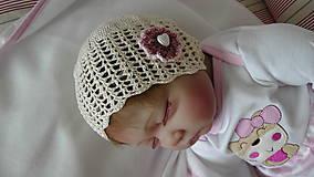 Detské čiapky - Čiapka 18 - 9866322_