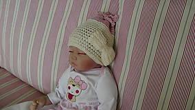 Detské čiapky - Čiapka 19 - 9866343_