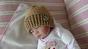 Detské čiapky - Čiapka 20 - 9866354_