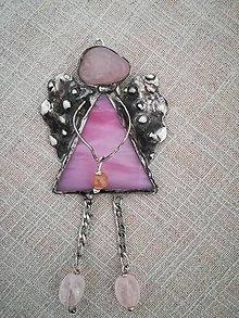 """Socha - Tiffany anjelík """"hoplá hop"""" sladko ružový - 9867573_"""