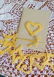 Papiernictvo - vianočná paličkovaná pohľadnica - 9866534_