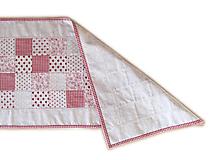 Úžitkový textil - Obrus režný malé štvorčeky - 9869253_