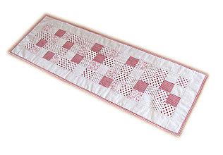 Úžitkový textil - Obrus režný malé štvorčeky - 9869250_