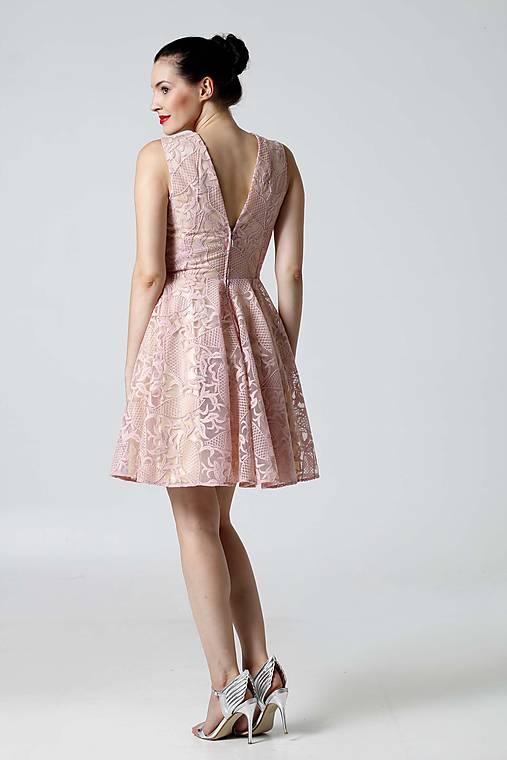 Šaty krajkové ružové   ZuzanaZachar - SAShE.sk - Handmade Šaty 1f2704d8c96