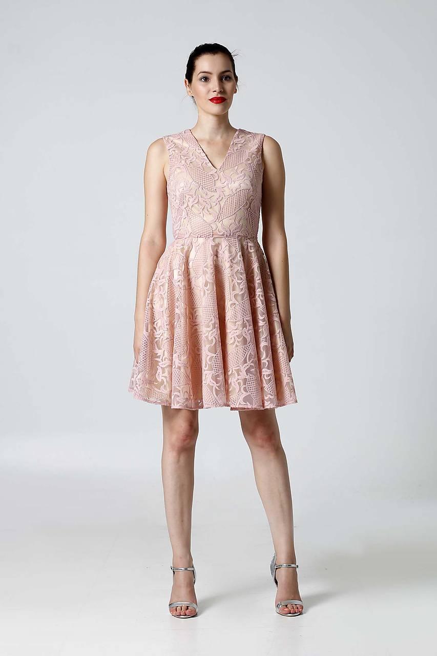 94481acf0337 ... Šaty - Šaty krajkové ružové - 9870112  ...