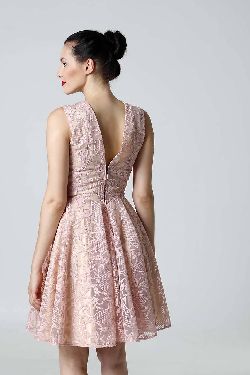 a78573bfc0c4 ... Šaty - Šaty krajkové ružové - 9870114  ...