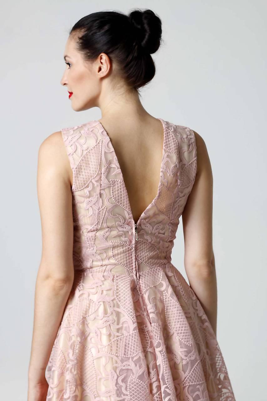 7b3ee17cbc69 ... Šaty - Šaty krajkové ružové - 9870115  ...