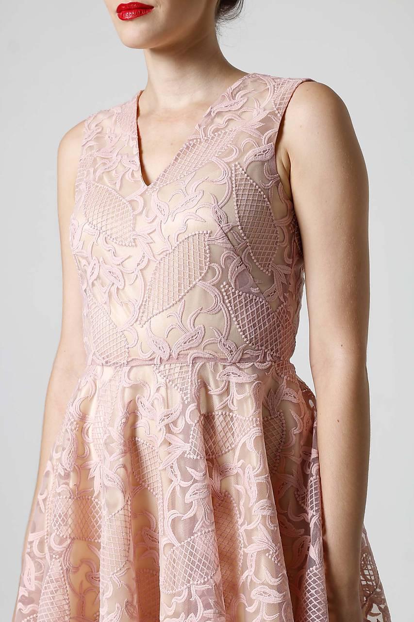 56dbd519218e ... Šaty - Šaty krajkové ružové - 9870117  ...