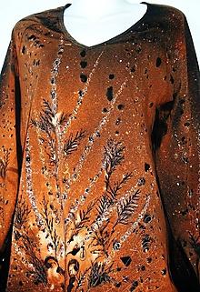 Tričká - Dámsky top - Trávy - hnedý - 9870359_