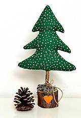 - Vianočný stromček-zelený-zasnežený - 9868616_