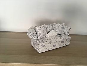Krabičky - Obal na servítky - Nežná kvetinová - 9869258_