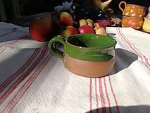 Nádoby - Šálka zelená č.1 - 9870281_