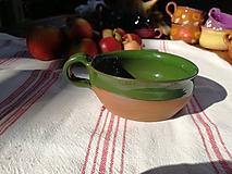 Nádoby - Šálka zelená č.2 - 9870288_