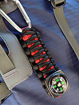 Kľúčenky - Kompas na batoh - 9869496_
