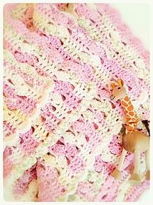 Textil - Deka pre dievčatko - VÝPREDAJ - 9870074_