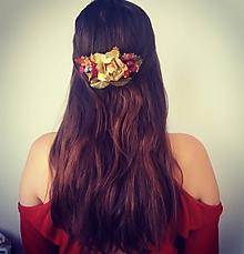 Ozdoby do vlasov - ''Jesenný'' - 9868949_