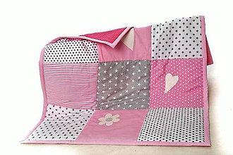 Textil - Hracia deka, prikrývka (120) - 9868624_