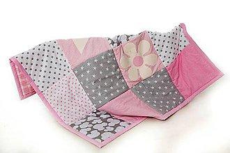 Textil - Hracia deka, prikrývka (100) - 9868626_
