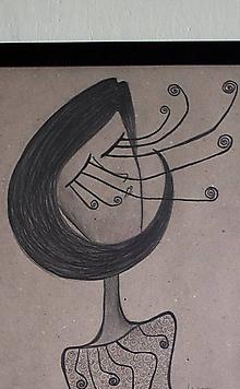 Kresby - °mihalnicová° /kresba uhlíkom/ - 9869667_