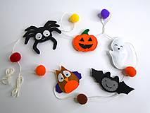 Filcová girlanda (Halloween)