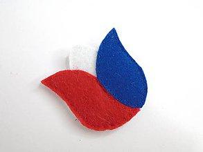 Odznaky/Brošne - Dámska brošňa (Tulipán 1.) - 9868268_