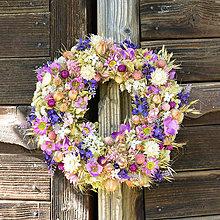 Dekorácie - Prírodný veniec na dvere - 9868040_