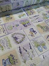 Textil - Levandulová látka Loneta - 9870597_