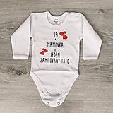 Detské oblečenie - JA + MAMINKA - detské body - 9870664_