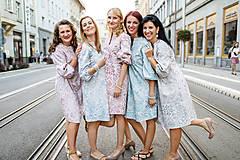 Šaty - Tehotenské šaty VINTAGE - 9868033_