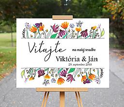 Grafika - Uvítacia tabula - grafika Victoria - 9869884_
