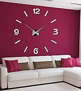 Hodiny - Nástenné hodiny zrkadlové alrbo farebné12P026 - 9869894_