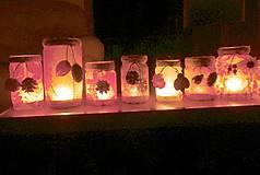 Svietidlá a sviečky - Svietničky na každé ročné obdobie - 9868675_